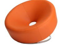 817056014017_Ward_Orange_Leather_Chair_Front_View_White_Background_grande