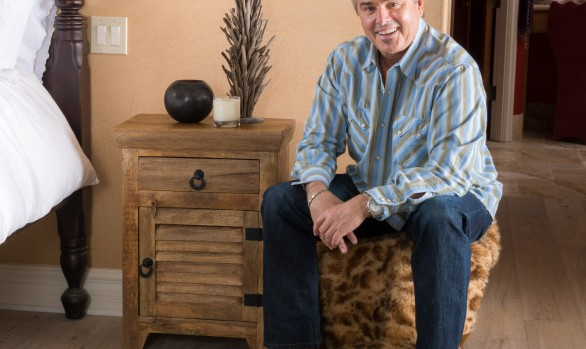 Christopher Knight Home Natural Mango Wood Cabinet