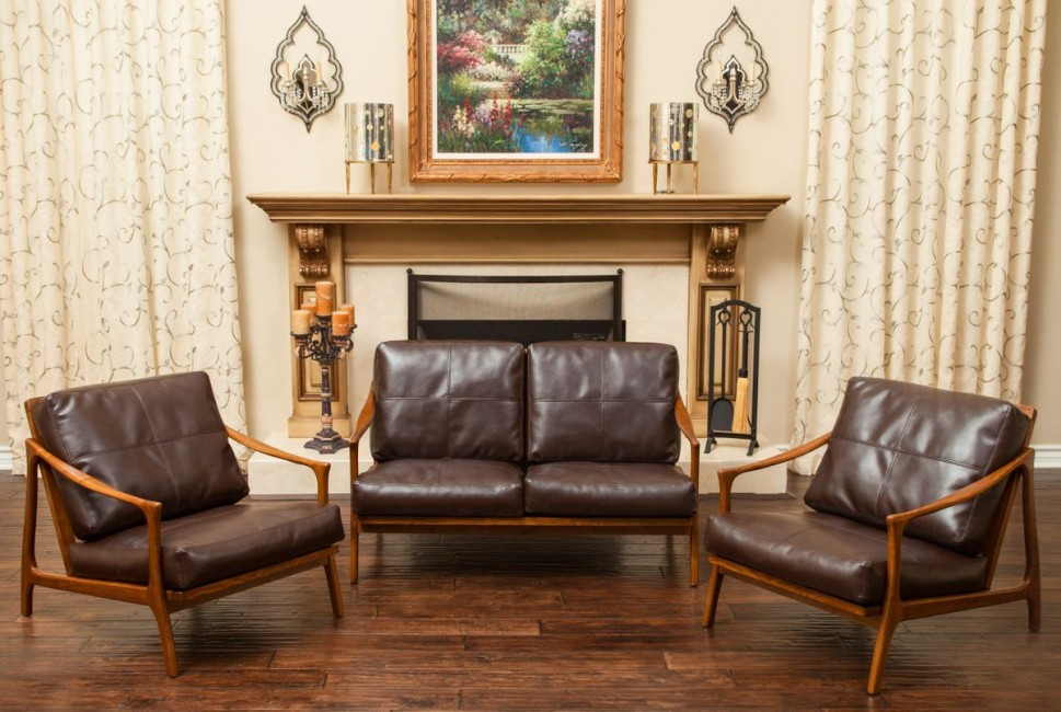 Christopher Knight Home Hampton Wood Frame Loveseat | Christopher ...
