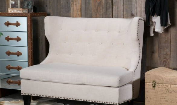 Christopher Knight Home Taryn Fabric Loveseat