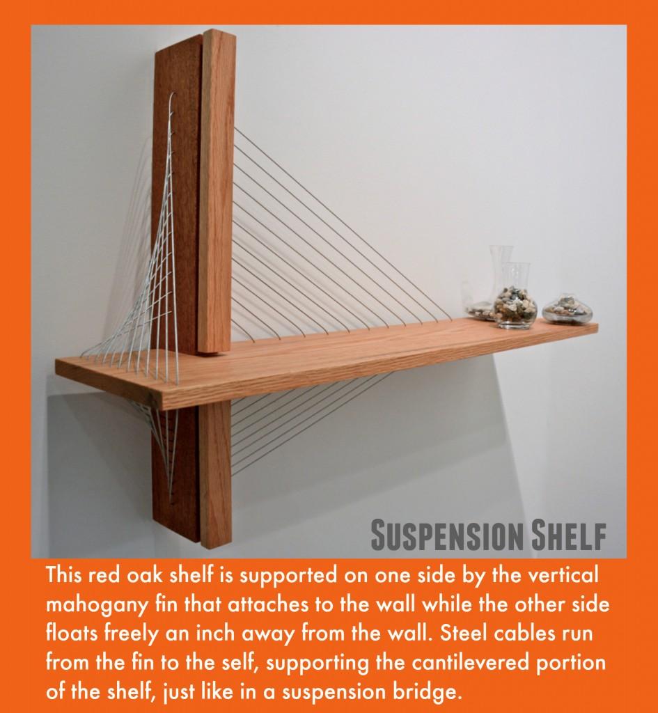 Robby Cuthbert Suspension Shelf