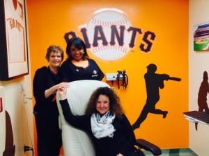 Rooms That Rock 4 Chemo - Giants Room Designed by Cora Sue Anthony