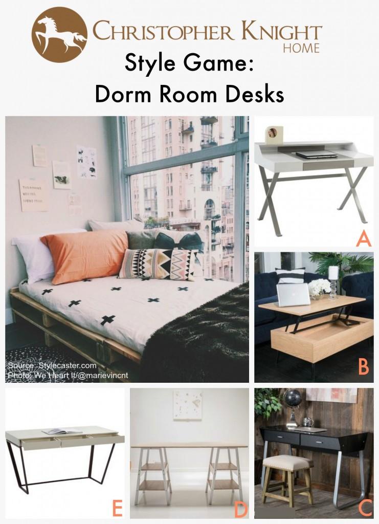 Style Game Dorm Room Desks Christopher Knight Home