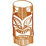 artist rendition of tiki from Spooky Story - Tiki Terror