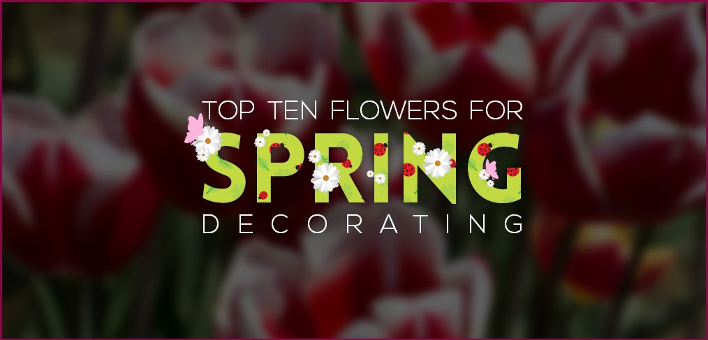 Flowers for Spring Decorating