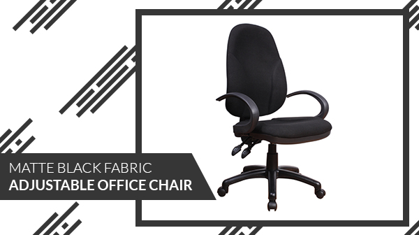 The Padded High Back Design And Adjustable Seat Height Add To The Comfort  Of This Chair, Which Should Be The Staple Of Every Home Office.